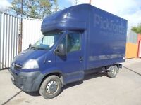 07 Vauxhall Movano / Master Luton bodied Chassis cab Drives, Needs work