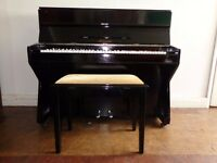 Small reconditioned Molineux upright piano with 3-year guarantee