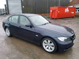 2006 BMW 3 SERIES 330D SE AUTOMATIC 4 DOOR SALOON BLUE ++VERY VERY LOW MILEAGE+ONE OF A KIND++