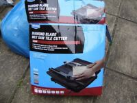 Wickes electric tile cutter, used once