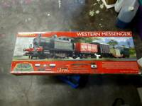 Hornby train set western messanger