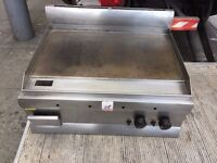 USED CATERING COMMERCIAL GAS FLAT GRILL FAST FOOD RESTAURANT CAFE KEBAB CHICKEN BAR