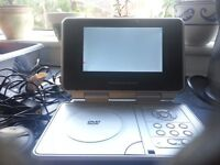 this is a portable dvd player by Venturer..