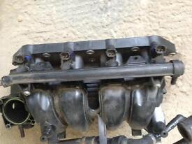Vw polo, skoda, audi, seat mk3 1.4 petrol fuel rail with injectors 030133319li