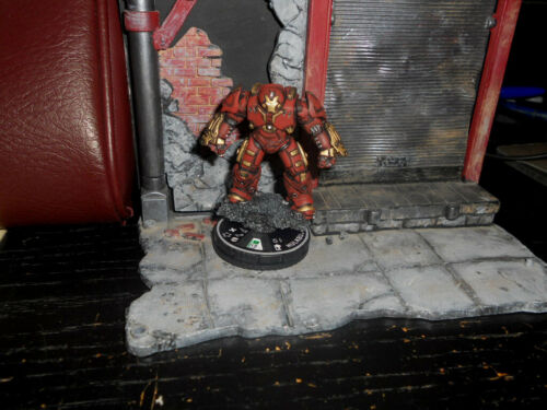 CUSTOM HEROCLIX HULKBUSTER MK 2 II Miniature Figure Marvel Pro-painted EPIC!