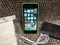 iPhone 5c 8gb green EE network