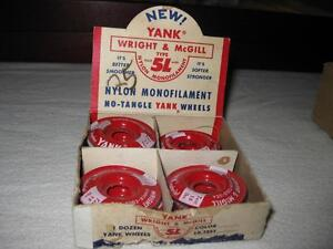 ANTIQUE WRIGHT & McGILL FISHING LINE Kawartha Lakes Peterborough Area image 1