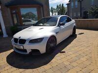 BMW M3 E92 DCT 4.0 V8 2012 Mineral White / Carbon Fiber, Massive spec, 420+ BHP