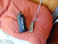 Fisher Golf anser style putter red face