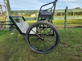 Sycamore 2 wheel.shetland carriage