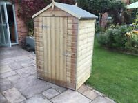 4 x 3 Oxford Shed. New. Built or Flatpack.
