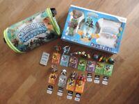 Wii Original Skylanders Spyro Adventure Starter Pack, Extra Figures & Bag