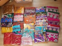 JOB LOT INDIAN LADY LADIES SUITS LADIES DRESSES NEW UNSTITCHED IN PACKAGING