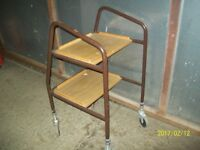 Home helper trolley.picture, Aynsley,spoons-vintage hoover other stuff all cheap