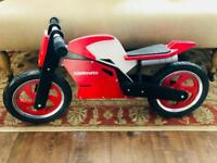 Kiddimoto Balance Bike (RRP: £149.99 - selling for £40) - under 1 year old!