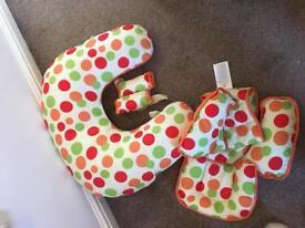 Clevamama cushion 10 in 1 baby cushion