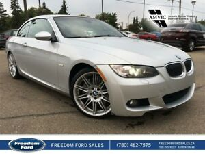 2009 BMW 3 Series Leather, Heated Seats, Hardtop Convertible