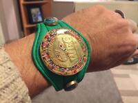 WBC wrist bracelet boxing