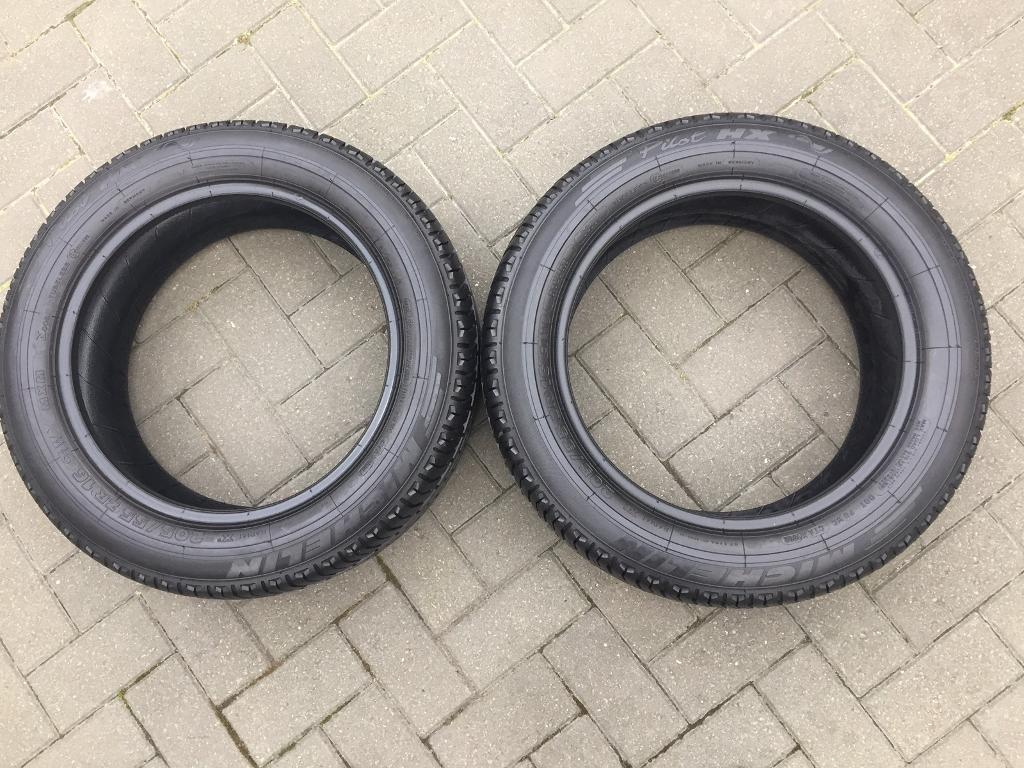 2x ONE BRAND NEW Michelin Pilot HX (8mm) & Other Has (7.5mm) 205/55/16