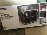 Outwell Padres XL Camping Kitchen Stand / Table / Unit - New & Unopened