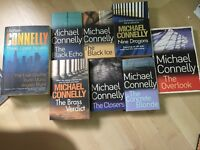 8 Michael Connelly books (10 stories), Harry Bosch series