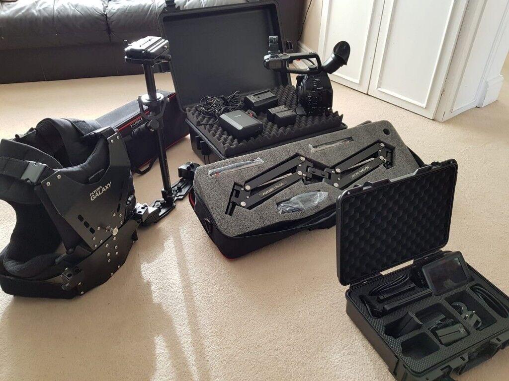 Canon c100 Mark ii + Atomos Ninja Blade + Flycam Redking with Galaxy Arm &  Vest | in South Ockendon, Essex | Gumtree