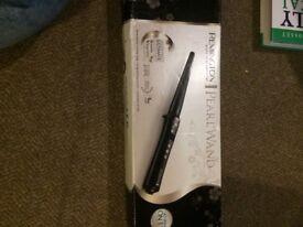 Remington pearl hair curling wand