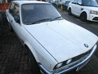 bmw e30 early PREFACE MODEL ( breaking for parts )