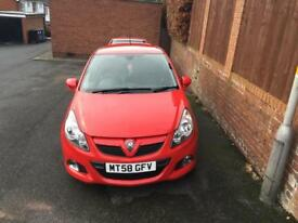 Corsa D/VXR bonnet flame red