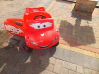 Lightning Macqueen Little Tikes sit and ride car