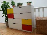 Chest of 8 drawers NORDLI Ikea