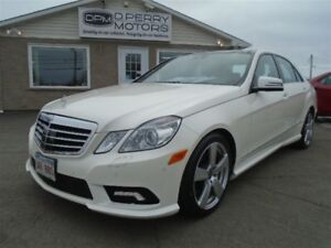 2011 Mercedes-Benz E-Class E350 4MATIC Premium Leather NAV Panor