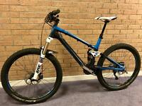 Trek Fuel EX 9.8 Full Suspension Carbon Fibre Mountain Bike - size Medium