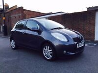 TOYOTA YARIS 1.3 5DR MAIN DEALER SERVICE HISTORY NEW MOT