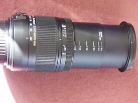 sigma 18-250mm F3.5-6-63DC MACRO OS CANNON EF FIT