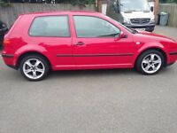 VW Golf mk4 52 reg for sale plus 4 steel wheels with tyres