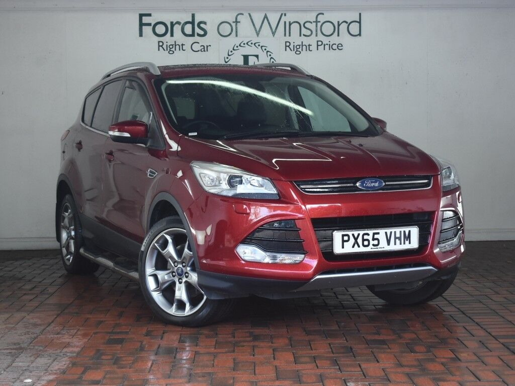 ford kuga 2 0 tdci 180 titanium x sport 5dr sat nav sunroof leather red 2015 in winsford. Black Bedroom Furniture Sets. Home Design Ideas
