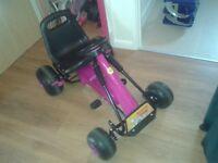 Kids Go kart, hardly used.