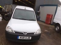 VAUXHALL COMBO.2011.HPI CLEAR.ONE PREVIOUS OWNER.EXCELLENT RUNNER.LOW MILES