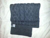 jack wills mens chunky knit scarf brand new