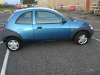 Ford KA only 29,000 miles and one year mot