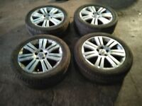 17 inch vauxhall vectra c elite alloy wheels will fit any 5 stud vauxhall 5x110 pcd