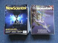 Collection of New Scientist magazines (1980s-2017)