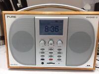 Pure Digital radio, FM, AUZ, SD card