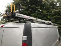 Vauxhall vivaro roof rack rhino 🦏 safe stow 3
