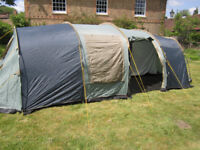 Large 8 person tent in very good condition with all neccessary bits