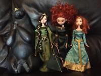 Brave set of dolls