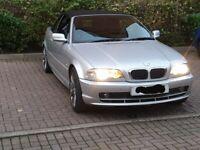BMW, 3 SERIES, Convertible, 2001, Manual, 1995 (cc), 2 doors