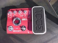Zoom B2.1U Bass Effects Pedal with USB output