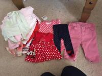 Free baby girls clothes bundle